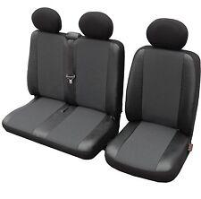 Autositzbezüge Sitzbezug 1 + 2 Bus Universal  Kunstleder Elegance VW T5