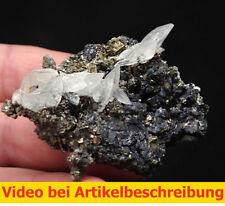 6487 Calcite UV Sphalerite  6*5*4 cm classic 1981 Gyöngyösoroszi Hungary   MOVIE