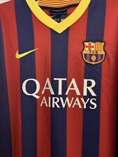 2013/14 Nike FC Barcelona Stadium Authentic Home Jersey Size XL