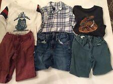 Gap Boys Size 6  Lot Of 6 Items Long Sleeve Shirts Pants