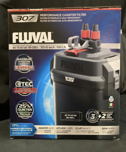 Fluval 307 Performance Canister Filter 40-70 Gallon - New