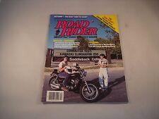 ROAD RIDER MAGAZINE DECEMBER 1987 AMERICAS FIRST TOURING MOTORCYCLE MAGAZINE
