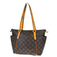Auth LOUIS VUITTON Totally PM Shoulder Bag Monogram Leather Brown M56688 73MF212