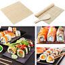 Kitchen Sushi Maker Kit Roll Mat  Roller  Mold Mould DIY Set w/ Spoon