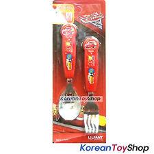 Disney Pixar Cars 3 Stainless Steel Spoon Fork Set Kids Children McQueen Korea