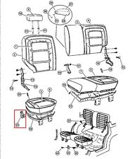 55195551 Rear Bench Seat Hinge Plate Jeep GRAND CHEROKEE WAGONEER ZJ NEW RARE