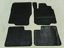 Mercedes M Class 2012-on Fully Tailored Deluxe RUBBER Car Mats in Black