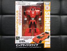 Transformers Takara  Adventure TED-15 Sideswipe  NEW US Seller