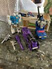 G1 transformers lot needlenose twin twist Astro train battletrap Mostly Complete