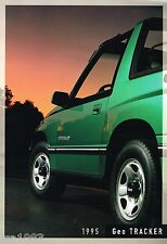 BIG 1995 Chevy TRACKER Brochure/Catalog with Color Chart:LSi,Convertible,4WD,4x4