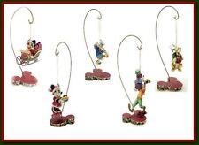 Jim Shore Xmas Hanging Mickey Minnie Donald Goofy Pluto Stand Disney Traditions