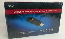 Linksys AE2500 Dual-Band Wireless-N USB Adapter Network Hi-Speed WiFi BRAND NEW!