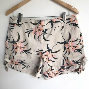 Ann Taylor Loft Womens Shorts Flowers Size 4 NWT