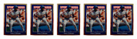 (5) 1992 Sports Cards #93 Vince Coleman Baseball Card Lot New York Mets