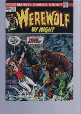 WEREWOLF BY NIGHT 12 / 1970S CLASSIC HORROR SERIES   /  MARVEL COMICS