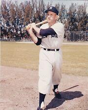 "Enos Slaughter New York Yankees Color 8"" x 10"" Baseball Photo"