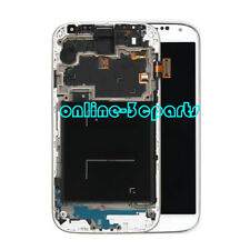 White LCD Display Touch Screen Digitizer Frame for Samsung Galaxy S4 I9505