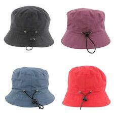 Adjustable Bucket Rain Hat From Whiteley Fischer C502 Red/Black/Navy/Olive/Wine