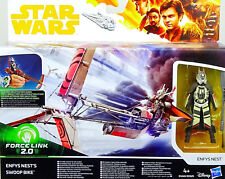 """STAR WARS """"SOLO"""" A STAR WARS STORY COLLECTION ENFYS NEST & SWOOP BIKE VON HASBRO"""