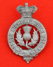 British Army. 3rd Perthshire Vol Btn, Black Watch Genuine OR's Cap Badge