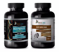 Candida plus - ANTI PARASITE – GRAY HAIR COMBO - saw palmetto and biotin