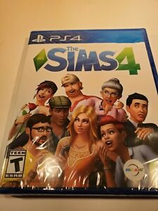 The Sims 4 Sony PlayStation 4 PS4 2017 Brand New Factory Sealed