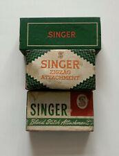 Vintage Singer Sewing Machine Attachments Bundle