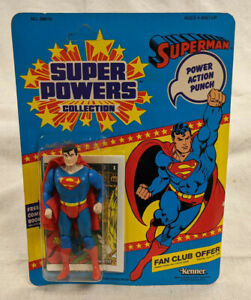Kenner DC Super Powers Collection Superman Action Figure - Sealed - Unpunched