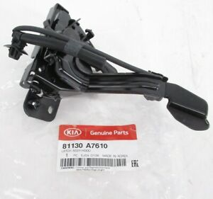 Genuine OEM Kia 81130 A7610 Hood Lock Latch 2017-2018 Forte w/ Keyless Entry