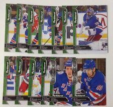 2016-17 PARKHURST NY Rangers Team Set 13 Card Lot Buchnevich Vesey Lindberg Nash