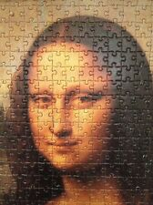 Large Mona Lisa Portrait Picture Jigsaw 1000 piece Completed Mounted on Board