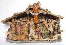 CHRISTMAS NATIVITY SCENE - PORCELAIN 43CM - BEAUTIFUL DETAIL