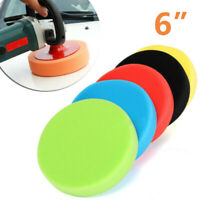 5Pcs Car Polisher 6 Inch Sponge Polishing Waxing Buffing Sponge Pad Compound Kit