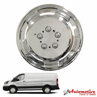 "16"" inch Chrome Deep Dish Van Wheel Trim Hub For Mercedes Vans Caps Polished"