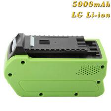29302 2601402 G-MAX 40V 29463 AKKU 5000mAh INTENSILO für Greenworks 25302