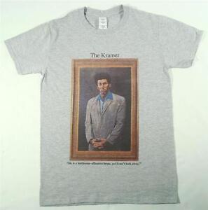 Kramer Grey T-Shirt Size SMALL-XXXL Seinfeld loathsome offensive brute sitcom