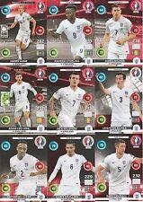 Panini Adrenalyn XL UEFA EURO 2016 England alle 9 Team Mate im Set