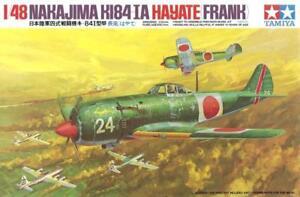 NAKAJIMA Ki-84-IA HAYATE / FRANK (JAPANESE AF MARKINGS) #61013 1/48 TAMIYA