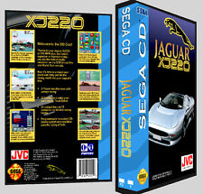 Jaguar XJ220 - Sega CD Reproduction Art DVD Case No Game