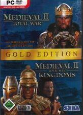 Medieval Total War 2 oro jewelcase sucesor de Shogun Rome muy buen puerperio