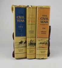 The Civil War A Narrative By Shelby Foote Books (1963) Volumes 1-3 SH2C