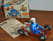Vintage SCHUCO 1055 Go-Kart Wind-Up Orignal Box and Original Manual