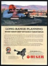2004 RUGER M77 M-77 Mark II MKII Target Rifle AD Advertising