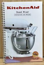 Kitchen Aid Stand Mixer Instructions and Recipes 9704323 KitchenAid 5 Qt 4.5 Qt