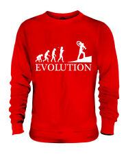 CYCLOCROSS EVOLUTION OF MAN UNISEX SWEATER MENS WOMENS LADIES GIFT BIKE