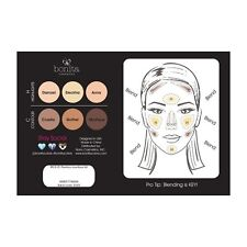 BONITA Flawless CONTOUR KIT Concealer Palette 6 Colors NEW IN BOX