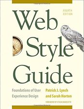 Web Style Guide, 4th Edition: Foundations of User Experience Design New Paperbac