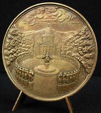 Médaille Louis Marte de Cormenin sc Rogat c1845 poinçon proue de navire Medal