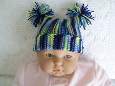 HAND KNITTED BABY BEANIE / HAT