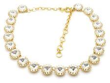J Crew Swarovski Martha Prong Set Crystal Necklace $165 Chunky Sparkly